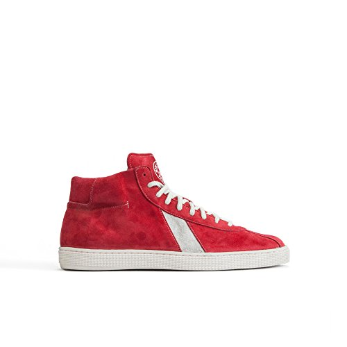 sawa-shoes-lishan-premium-suede-red-white-taille-46