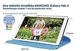 DYNSEO Tablette tactile simplifiée pour senior SAMSUNG Galaxy Tab A 10.1 pouces + 1 an d'abonnement aux jeux senior jeux mémoire alzheimer Edith+ étui offert