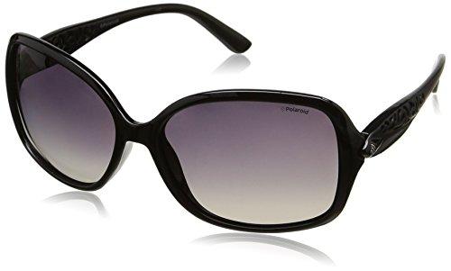 Polaroid femme P8339 La Kih 55 Montures de lunettes, Noir (Black/Brown)