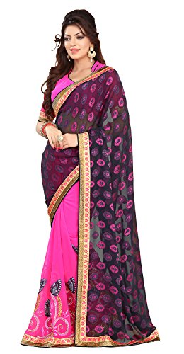Chigy Whigy Grey Fancy Jacquard Casual Wear Sarees