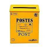 little finger Briefkasten, Retro, Metall, Wandmontage, Briefkasten, Zeitungsbox, Postkasten,...