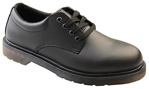 Footwear Studio Northwest Territory Mens Black Leather Shoes UK 12