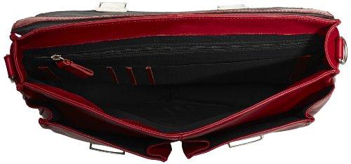 Bugatti 495361-02 - Borsa sportiva Donna, colore: 02 braun Rosso (Rot (Rot 16))