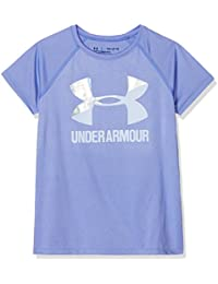 Under Armour UA de los niñas Solid Big Logo Camiseta de Manga Corta 85954304932ea