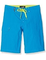 Hannah Outdoor Concepts Niños VECTA Jr Pantalones Cortos, primavera, infantil, color Blue aster, tamaño 6 Años (116 cm)