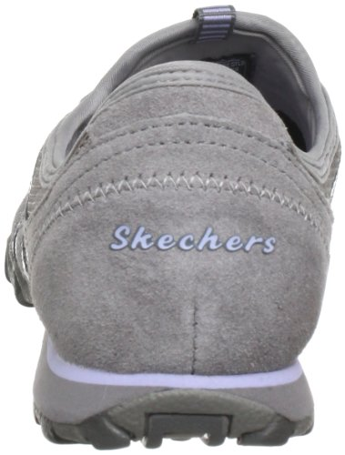 Skechers Bikers Hot Ticket, Baskets mode femme Gris (Gylb)