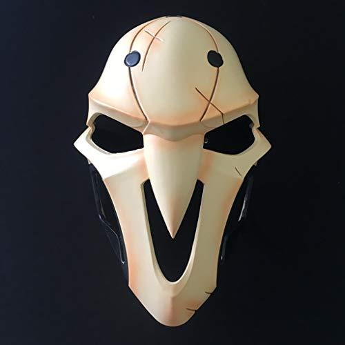HappyL Halloween Maske/Totenmaske Cosplay Spielfiguren, Halloween Scary Maskdy Scary Alien Teufel Vollgesichtsmaske Kostüm Party Cosplay Prop (Alien 3 Kostüm Für Verkauf)