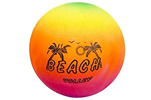 48097, Beach Volleyball 15 cm, Volley Ball, PVC Ball, Handball, Strandball,...