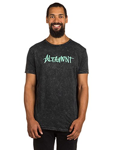 Herren T-Shirt Altamont One Liner Wash T-Shirt Black