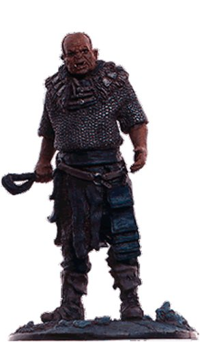 Lord of the Rings Señor de los Anillos Figurine Collection Nº 85 Orc Brute 1