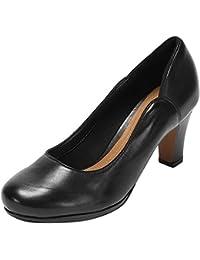 Clarks Chorus Nights - zapatos de tacón cerrados de cuero mujer