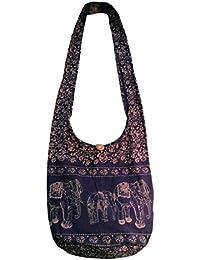 Crossbody Hobo Bags Purses Sling Wide Strap, Hippie Bohemian Gypsy Handbags Women Shoulder Bags For The Beach...