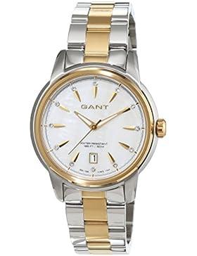 Gant Damen-Armbanduhr BLOOMFIELD Analog Quarz Edelstahl beschichtet W70423