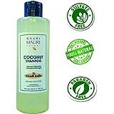 Khadi Mauri Herbal Coconut Shampoo - SLES & PARABEN FREE - Nourished & Silky Hair - 210 ml - Enriched with Amla