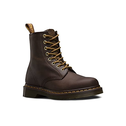 Dr Martens Mens Lace Up Non Safety Leather Boot 1460Z Brown