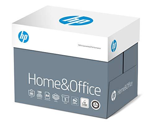 HP Kopierpapier CHP150 Home & Office, DIN-A4 80g, 2500 Blatt, Weiß - Allround Kopierpapier für Zuhause und Büro