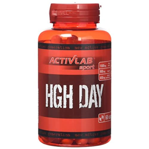 Activlab HGH Day – 60 Capsules | Natural Formula | Preworkout | Bodybuilding Supplements | Nutritional...