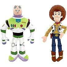 aefc62e815562 Precio Juguetes Buzz Lightyear y Woody Suave muñeca de Juguete Set-Disney Toy  Story Mini