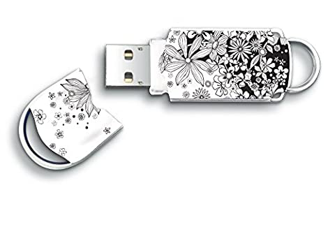 PENDRIVE INTEGRAL XPRESSION FLOWERS - 32GB - USB 2.0 - COMPATIBLE PC Y MAC #3205