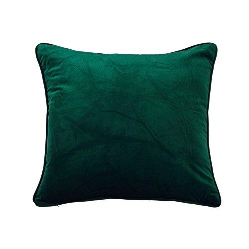 Semplice cuscino in pile tinta unita/ moderno peluche cuscino/ divano cuscini/ indietro cuscino letto-C 55x55cm(22x22inch)VersionA