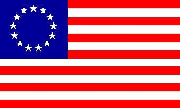 USA - Betsy Ross Flagge 90 * 150 cm (Betsy Ross Hat)