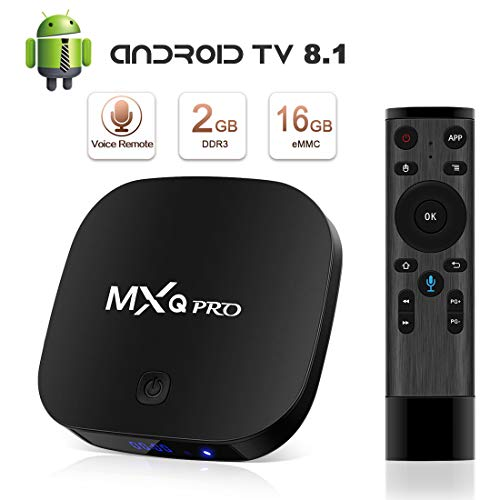TV Box Android 8.1 Boîtier TV 4K 3D [2018 Dernière Version] [2GB RAM+16GB ROM] SUPERPOW MXQ Pro S Android 8.1...