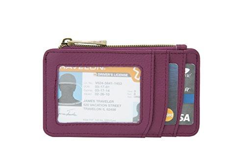 travelon-porte-monnaie-femme-rose-taille-unique