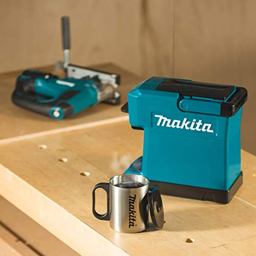 Makita DCM501Z Coffee Maker, 18 V, Blue