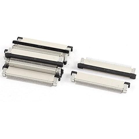 Parte inferior de 0,5 mm Puerto 40Pin Pitch FFC FPC cinta zócalos de conexión 10 piezas