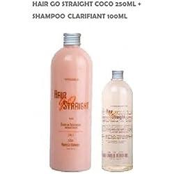 KIT LISSAGE BRESILIEN 250ML HAIR GO STRAIGHT COCO