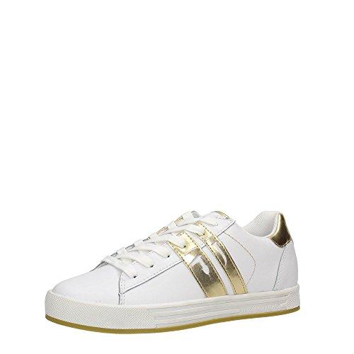 Trussardi Jeans 79S500 Sneakers Damen White/Gold