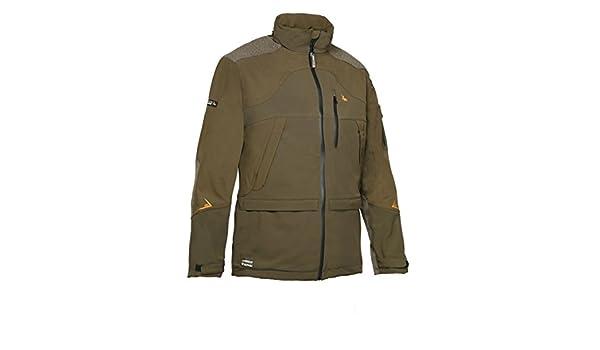 d233654605153 ProHunt Softshell X3 Jacket - Olive Green: Amazon.co.uk: Sports & Outdoors