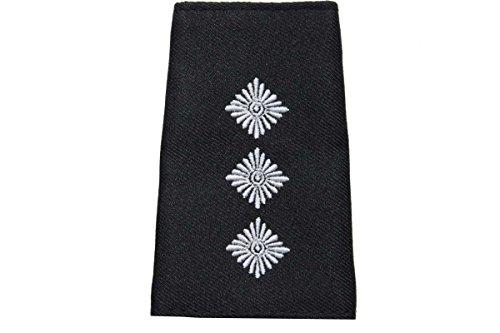 Bundeswehr Rangschlaufen Heer Pullover weiß auf schwarz Hauptmann