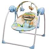 Balancelle bébé électrique/transat : SPARKY bleu