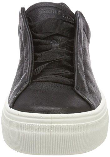 Legero Damen Lima Sneaker, Schwarz (Schwarz)