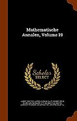 Mathematische Annalen, Volume 19