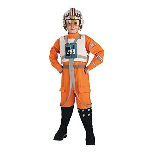 Kind Kostüm Pilot X Wing - Rubies 883164 - Star Wars X-Wing Pilot Kinderkostüm - M-128cm
