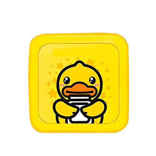 Angela Mini Wireless Papier Fotodrucker niedliche kleine gelbe Ente Form tragbare Bluetooth Instant Mobile Home Print Pocket Smartphone Leben - Thermo Foto Drucker
