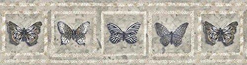 Schmetterling Tapete Bordüre