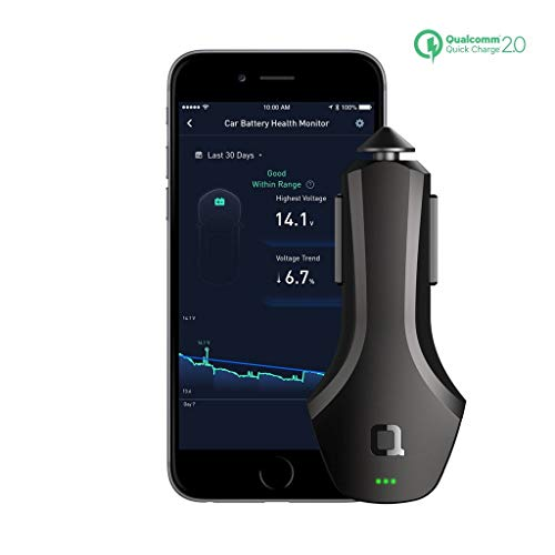 nonda Smart Auto Nero Caricabatterie per cellulari e PDA