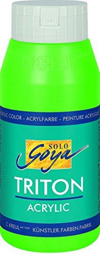 Triton 17064 - 750ml Bottiglia in acrilico, fluorescente (Verde 750ml Bottiglia)