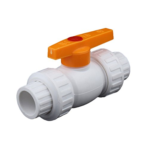 OUNONA PVC Ball Valve IPS Planifiez 40 haute résistance à la pression de l'environnement d'arrosage PE PPR Tuyau Ball Valve
