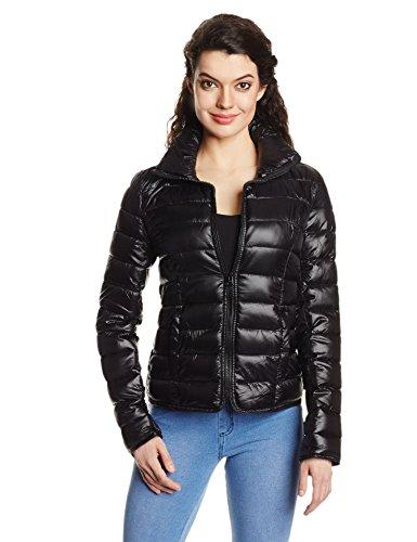 ONLY Damen Jacke 15077603/TAHOE NYLON SHORT JACKET OTW BB, Gr. 36 (S), Schwarz (Jacke Jeans Bb)