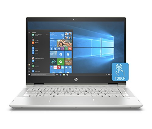HP Pavilion x360 14-cd0053TX 2018 14-inch Laptop (8th Gen Intel Core i5-8250U/1TB/Windows 10 Home/Integrated Graphics), Mineral Silver