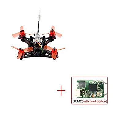 Hobbyhere Kingkong 90GT 90mm Brushless Mini FPV Racing Drone with Micro F3 Flight Controll 16CH 800TVL VTX (DSM2 Receiver)