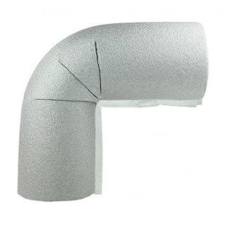 5 x Rohrisolierung, Bogen mit 22mm Durchmesser, 13mm Isolierung
