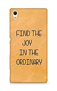 AMEZ find the joy in the ordinary Back Cover For Sony Xperia Z4