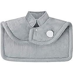 Medisana HP 622 capuchon chauffant électrique, coussin chauffant pour les épaules et le cou, poncho chauffant avec 6 réglages de température, protection contre la surchauffe, arrêt automatique