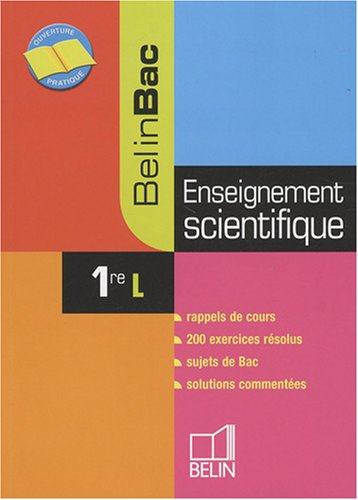 Enseignement scientifique 1e L par Jerôme David, Ariane Pasco, Aline Soulhat