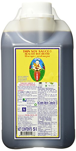Healthy Boy Sojasauce, hell, 1er Pack (1 x 5 l Packung)